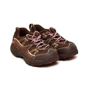 L.L. Bean Sneakers Shoes Girls Size 4 Brown Pink